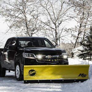Custom-Truck-Fisher-Straight-Blade-Snowplow