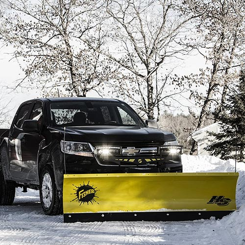 Fisher Straight Blade Snowplow Image