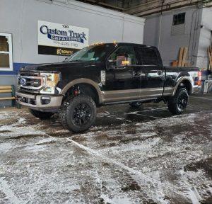 Ford Superduty F250 - Leveling kit & salt wash