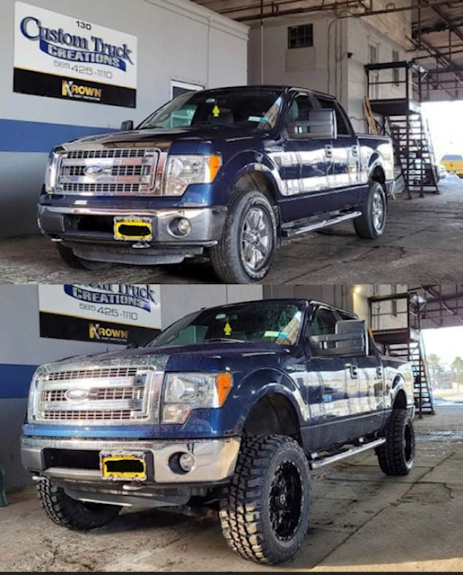 Ford F150 6 inch Rough Country lift & Wheel/Tire Package