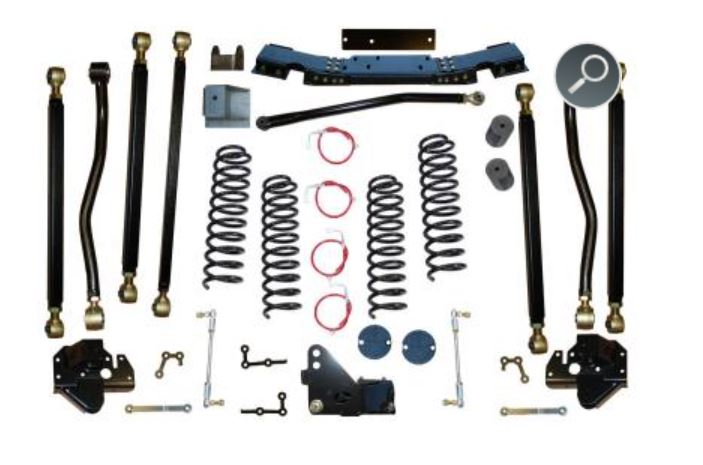 Clayton Offroad 4.5 Inch Jeep Wrangler Lift Kit Image