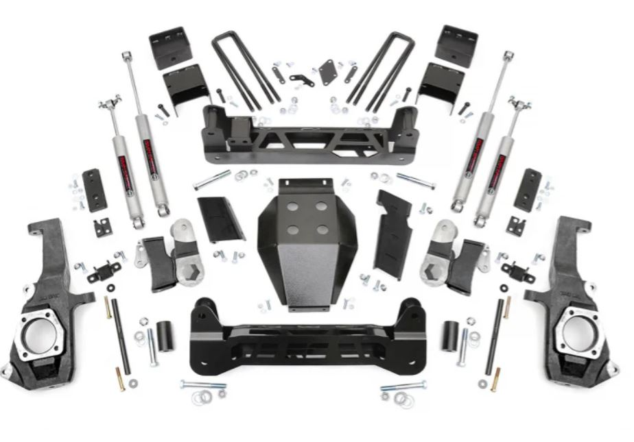 Rough Country Chevy 5 Inch Suspension Lift Kit Image