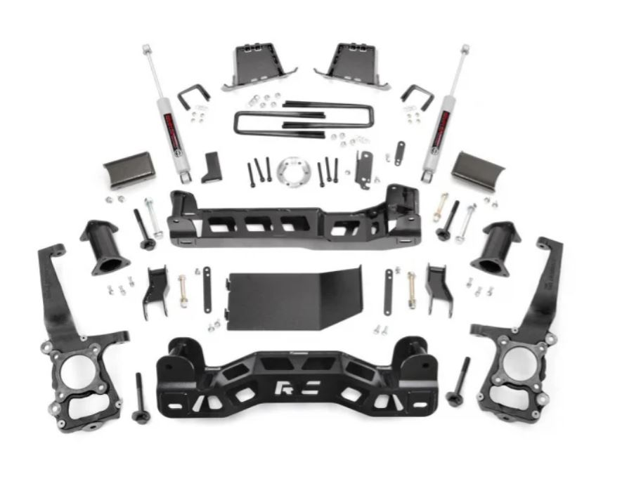 Rough Country Ford 6 Inch Suspension Lift Kit Image