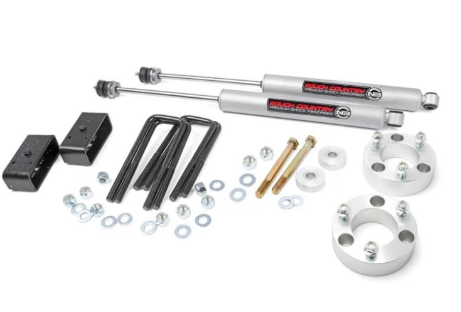 Rough Country Toyota 3 Inch Suspension Lift Kit Image