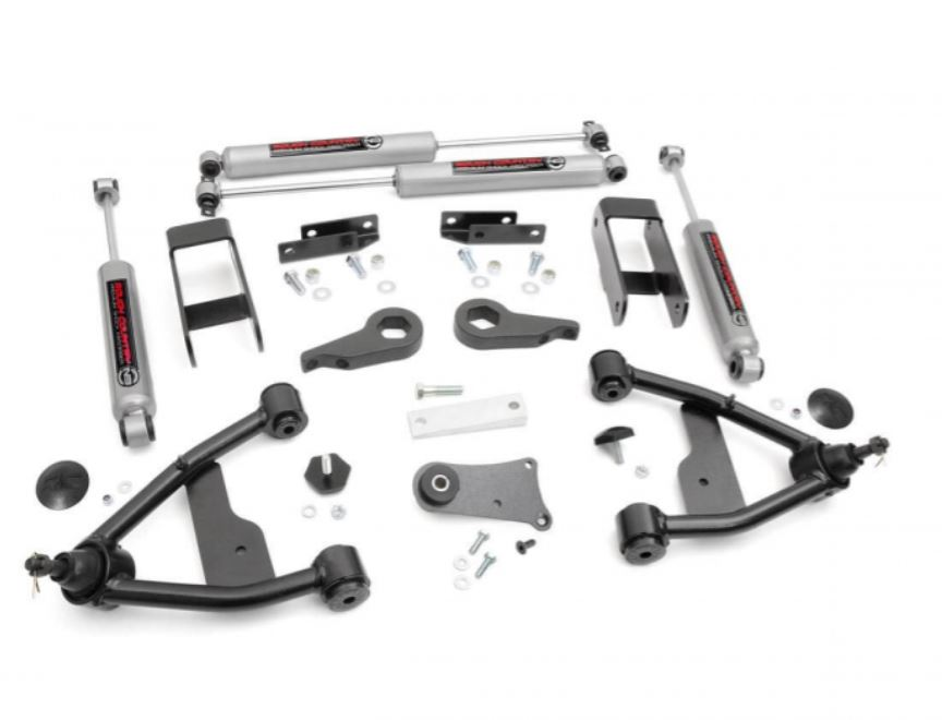 Rough Country Chevy 2.5 Inch Suspension Lift Blazer Image