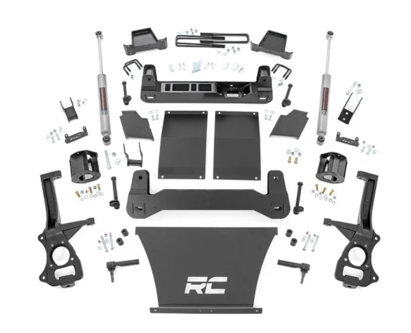 Rough Country GMC 4 Inch Lift Kit #1 Image