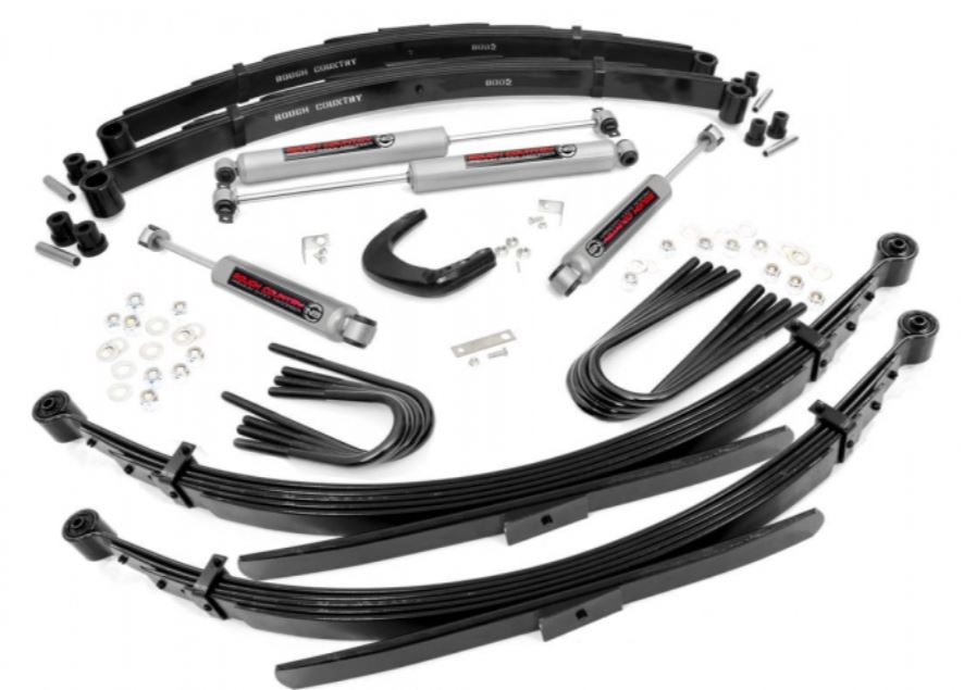 Rough Country GMC 4 Inch Lift Kit #2 Image