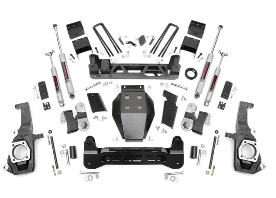 Rough Country Chevy 7.5 Inch Lift Kit #1 Image