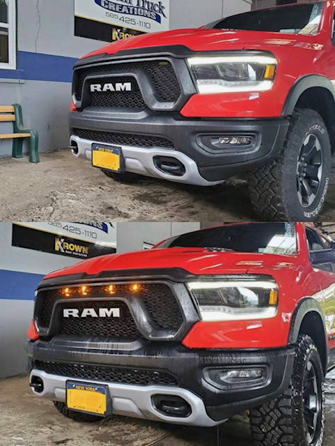 2021 Ram with a light package