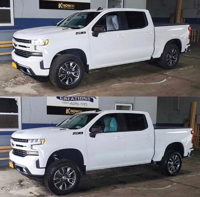 2021 Chevy Silverado with a 4in Ready Lift