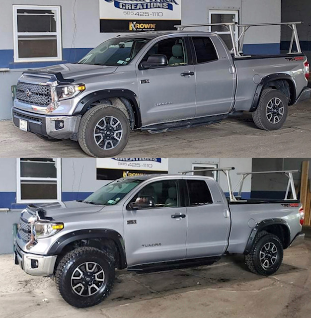 2018 Toyota Tundra with a 3in Rough Country lift