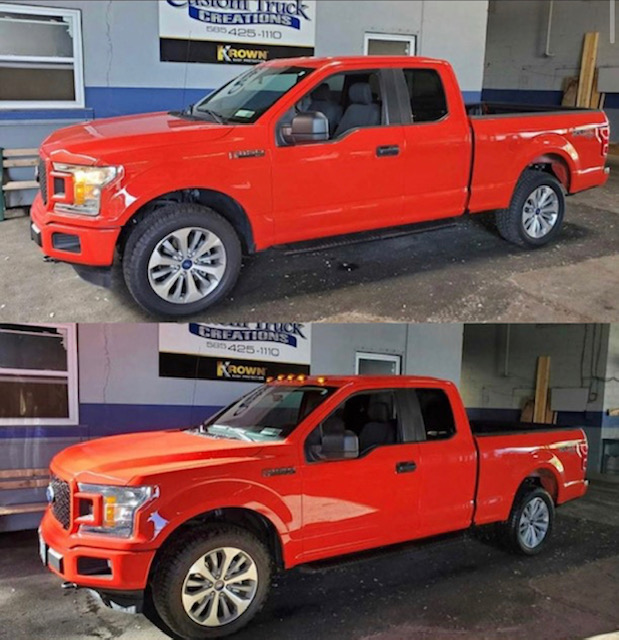 2018 Ford F150 with recon roof lights