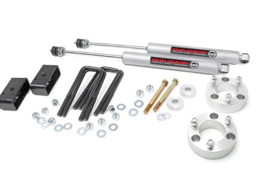 Toyota 3 inch Suspension lift 2